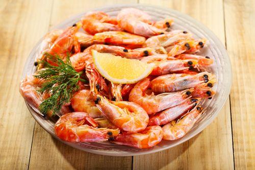過年吃蝦象徵長壽