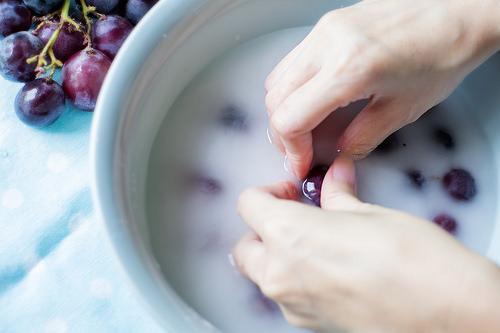 洗葡萄省水密技