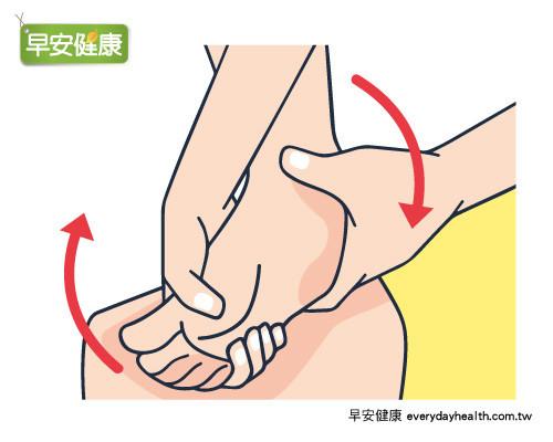腳踝伸展運動
