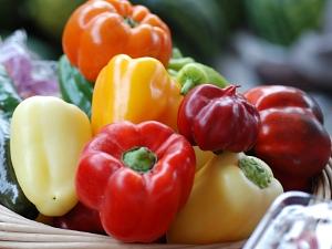 甜椒,紅椒,黃椒,青椒,維生素C