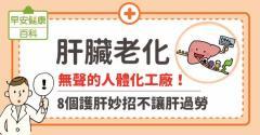 肝臟老化:無聲的人體化工廠!8個護肝妙招不讓肝過勞