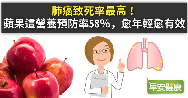 肺癌症狀有哪些?預防肺癌飲食對策:抗肺癌必吃的5種食物是肺部護身符