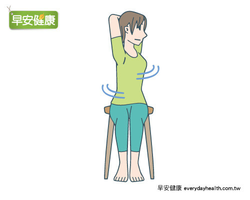 伸展運動,背痛,肩膀僵硬