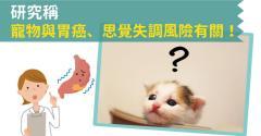 研究稱寵物與胃癌、思覺失調風險有關!