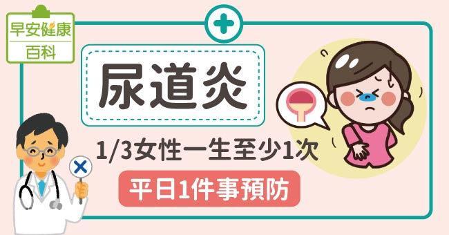 尿道炎:33%女性一生至少一次!平日1件事預防