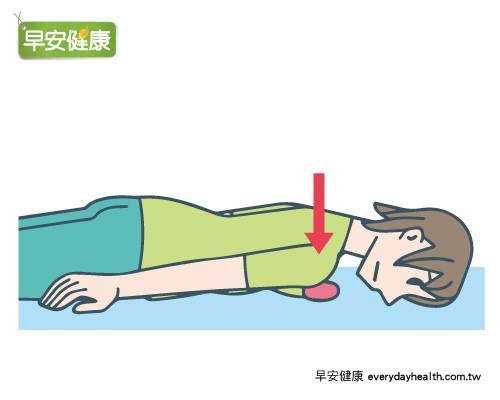 背痛,肩膀僵硬,按壓