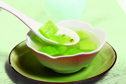 苦瓜綠豆湯