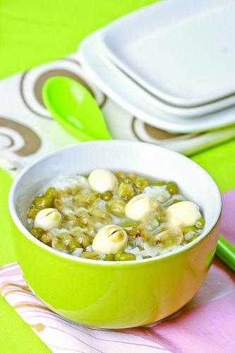綠豆+白米=補充微量元素和維生素B群