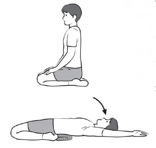 腿部內側伸展操
