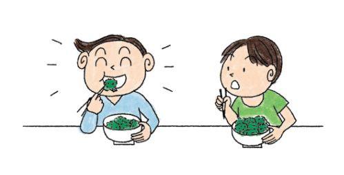 改善偏食方法:同儕影響