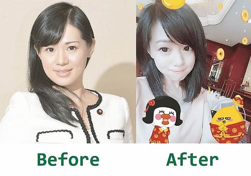 日本美女議員上西小百合3個月減13公斤Before After