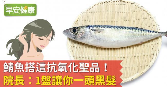 鯖魚搭這抗氧化聖品!院長:1盤讓你一頭黑髮