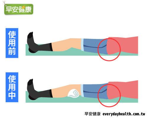 膝蓋墊枕頭