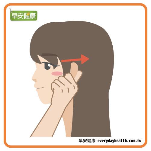 按摩耳朵穴道,改善肩痛、耳鳴、頭痛、膝痛