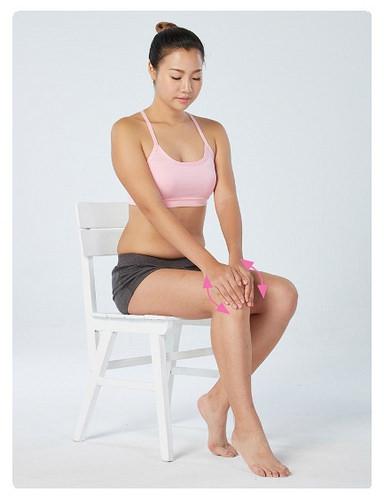 撥筋,膝蓋保健