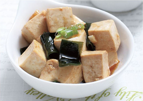 海帶燉豆腐