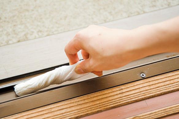門框、窗框清潔方法