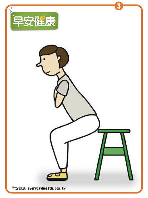 肌力測試:從坐到站