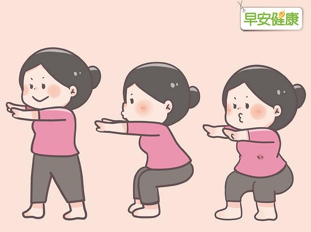 基本深蹲鍛鍊大腿肌力