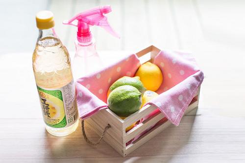 天然檸檬白醋無毒清潔液