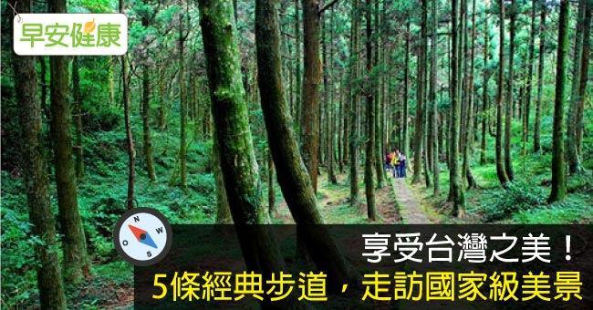 享受台灣之美!5條經典步道,走訪國家級美景