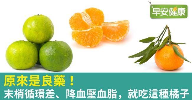 原來是良藥!末梢循環差、降血壓血脂,就吃這種橘子