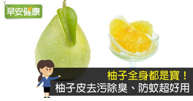 柚子全身都是寶!柚子皮去污除臭、防蚊超好用