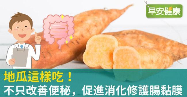 地瓜這樣吃!不只改善便秘,促進消化修護腸黏膜