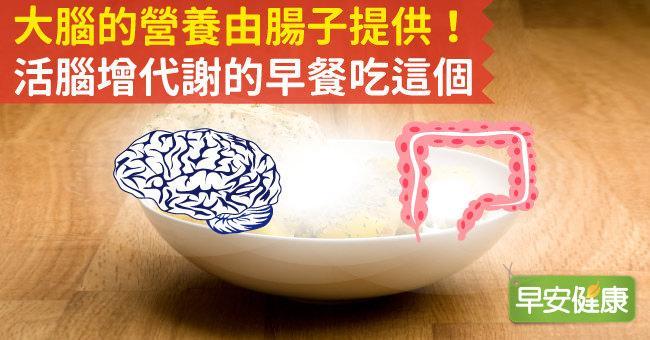 大腦的營養由腸子提供!活腦增代謝的早餐吃這個