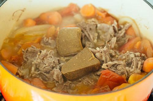 咖哩牛肉無水鍋食譜