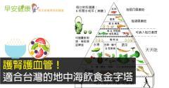 護腎護血管!適合台灣的地中海飲食金字塔