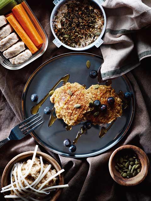 減肥菜單:燕麥餐、燕麥煎餅、燕麥片起司粥