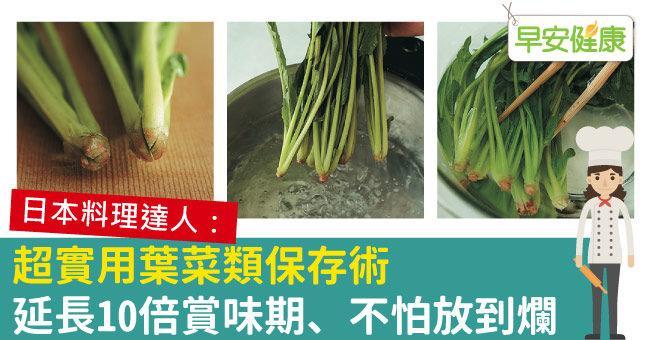超實用葉菜類保存術,延長10倍賞味期、不怕放到爛