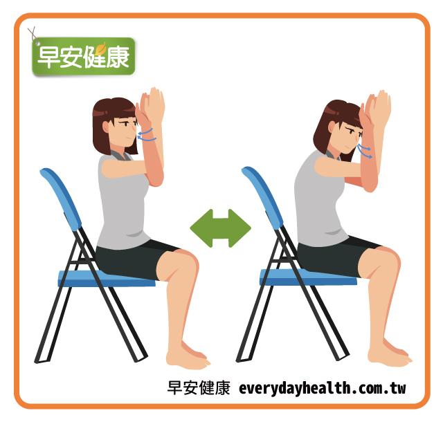 鷹式瑜珈改善肩痛背痛