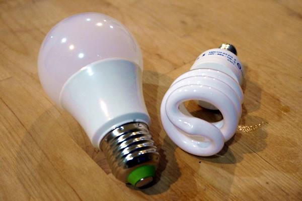 省電燈泡換成LED燈泡更省電