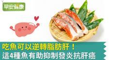 吃魚可以逆轉脂肪肝!這4種魚有助抑制發炎抗肝癌