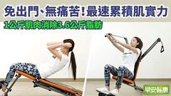 啟動抗老實力!多1公斤肌肉,每年多減3.6公斤脂肪