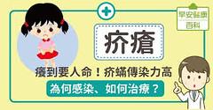疥瘡:癢到要人命!疥蟎傳染力高,為何感染、如何治療?
