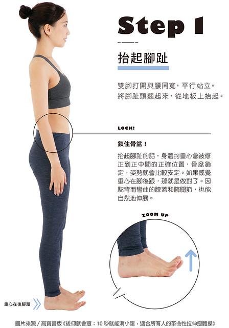 伸展腹肌鍛鍊法