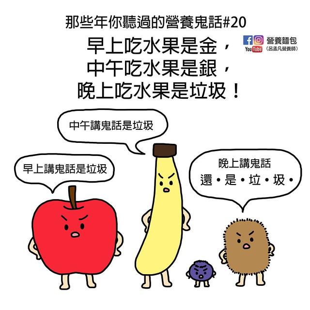 「早上吃水果吃金,中午吃水果是銀,晚上吃水果是垃圾?」營養師闢謠。