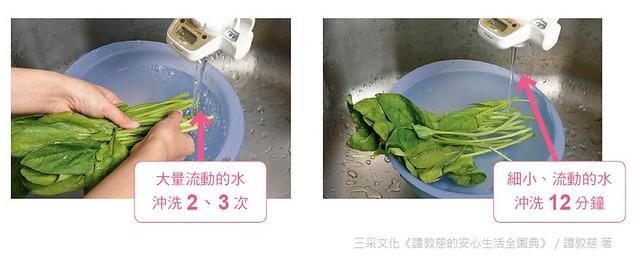 葉菜清洗法